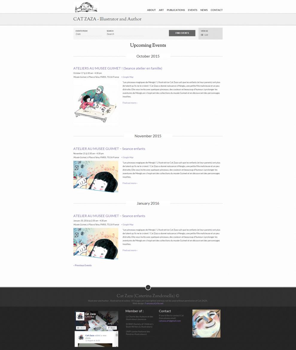 Cat Zaza – Illustrator and Author